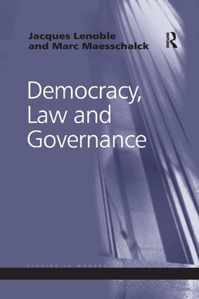 Democracy, Law and Governance book cover