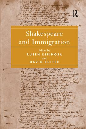 Shakespeare and Immigration: 1st Edition (Paperback) book cover