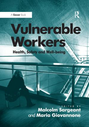 Vulnerable Workers: Health, Safety and Well-being book cover