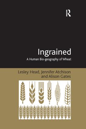 Ingrained: A Human Bio-geography of Wheat, 1st Edition (Paperback) book cover