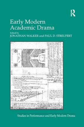 Early Modern Academic Drama book cover