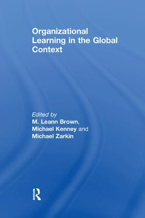 Organizational Learning in the Global Context: 1st Edition (Paperback) book cover