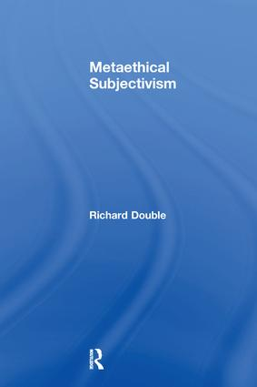 Metaethical Subjectivism book cover