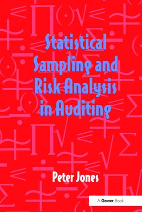 Statistical Sampling and Risk Analysis in Auditing: 1st Edition (Paperback) book cover