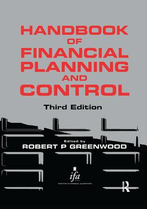 Handbook of Financial Planning and Control book cover