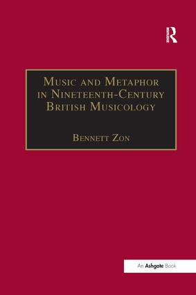 Music and Metaphor in Nineteenth-Century British Musicology book cover