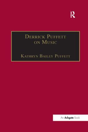 Derrick Puffett on Music