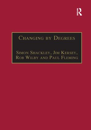 Changing by Degrees: The Potential Impacts of Climate Change in the East Midlands book cover