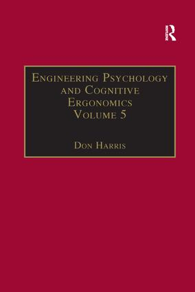 Engineering Psychology and Cognitive Ergonomics: Volume 5: Aerospace and Transportation Systems, 1st Edition (Paperback) book cover