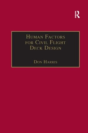 Human Factors for Civil Flight Deck Design: 1st Edition (Paperback) book cover