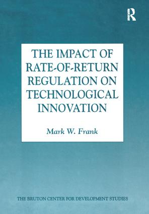 The Impact of Rate-of-Return Regulation on Technological Innovation