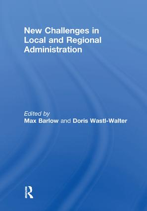 New Challenges in Local and Regional Administration: 1st Edition (e-Book) book cover