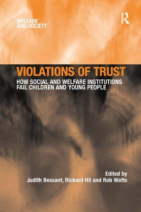 Violations of Trust: How Social and Welfare Institutions Fail Children and Young People book cover