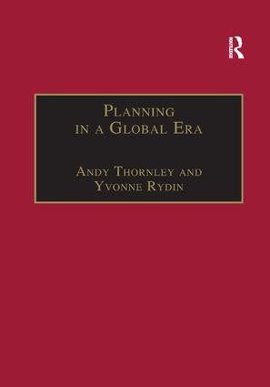 Planning in a Global Era: 1st Edition (Paperback) book cover