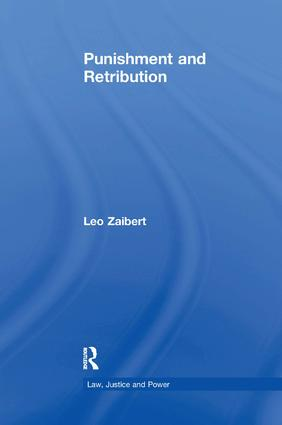 Punishment and Retribution: 1st Edition (Paperback) book cover