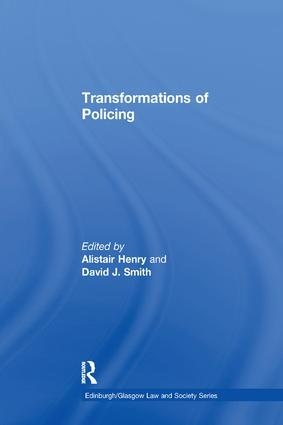 Transformations of Policing: 1st Edition (Paperback) book cover
