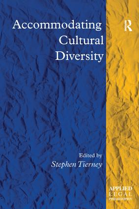 Accommodating Cultural Diversity book cover
