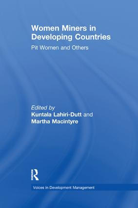 Women Miners in Developing Countries: Pit Women and Others book cover