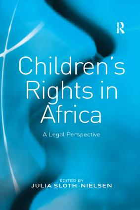 Children's Rights in Africa: A Legal Perspective book cover