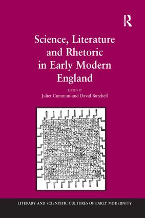 Science, Literature and Rhetoric in Early Modern England book cover