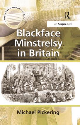 Blackface Minstrelsy in Britain book cover