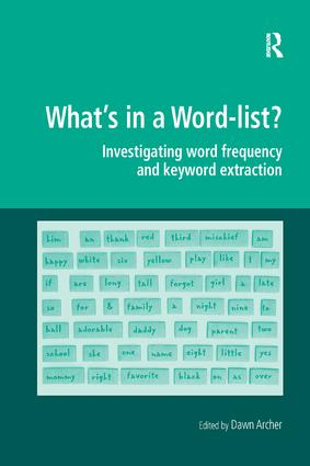 What's in a Word-list?: Investigating Word Frequency and Keyword Extraction book cover