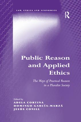 Public Reason and Applied Ethics: The Ways of Practical Reason in a Pluralist Society book cover