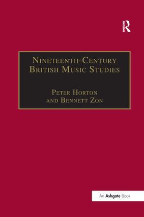 Nineteenth-Century British Music Studies: Volume 3 book cover
