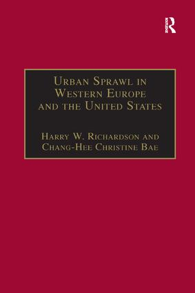 Urban Sprawl in Western Europe and the United States book cover