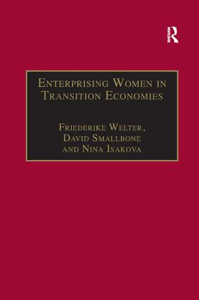 Enterprising Women in Transition Economies: 1st Edition (Paperback) book cover