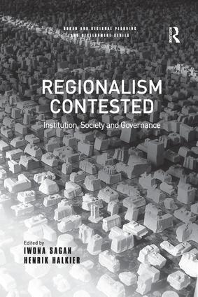 Regionalism Contested: Institution, Society and Governance book cover