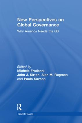 New Perspectives on Global Governance: Why America Needs the G8 book cover