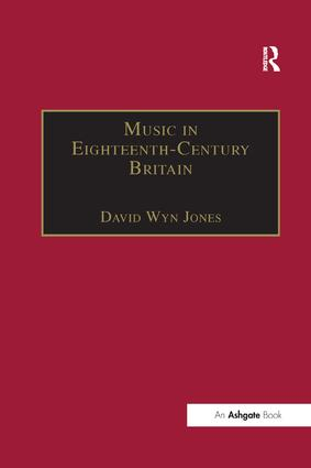 Music in Eighteenth-Century Britain: 1st Edition (Paperback) book cover