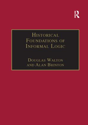 Historical Foundations of Informal Logic book cover