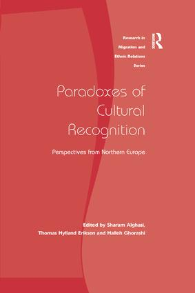 Paradoxes of Cultural Recognition: Perspectives from Northern Europe, 1st Edition (Paperback) book cover