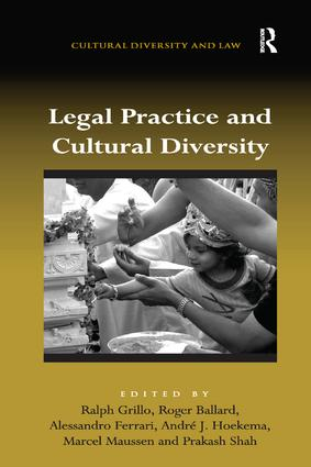 Legal Practice and Cultural Diversity book cover