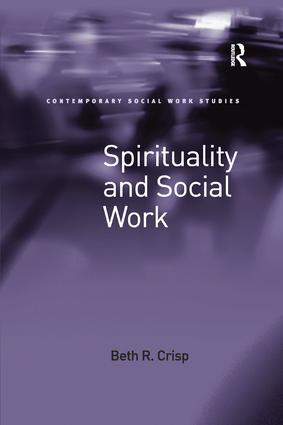 Spirituality and Social Work book cover