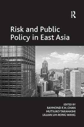 Risk and Public Policy in East Asia book cover