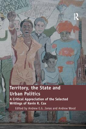 Territory, the State and Urban Politics