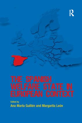 The Spanish Welfare State in European Context: 1st Edition (Paperback) book cover