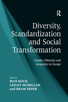 Diversity and Standardization: Concepts, Issues and Approaches
