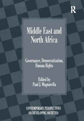 Middle East and North Africa: Governance, Democratization, Human Rights, 1st Edition (Paperback) book cover