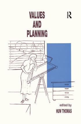 Values and Planning: 1st Edition (Paperback) book cover