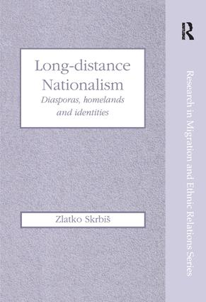 Long-Distance Nationalism: Diasporas, Homelands and Identities book cover