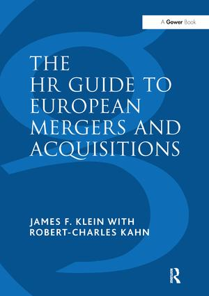 The HR Guide to European Mergers and Acquisitions: 1st Edition (e-Book) book cover