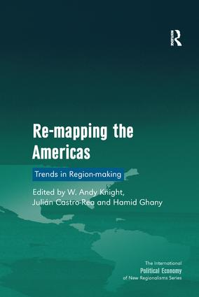 Re-mapping the Americas: Trends in Region-making book cover