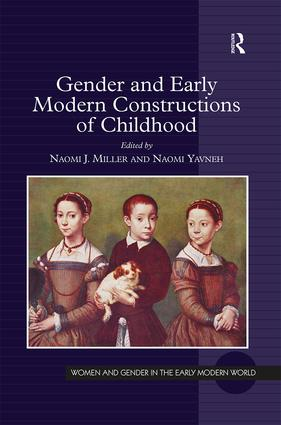 Gender and Early Modern Constructions of Childhood book cover