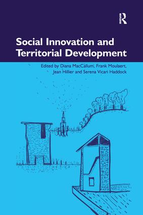 Social Innovation and Territorial Development: 1st Edition (Paperback) book cover