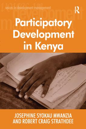 Participatory Development in Kenya: 1st Edition (Paperback) book cover