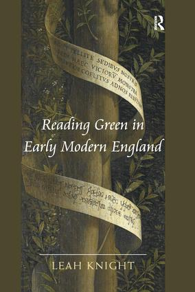 Reading Green in Early Modern England book cover